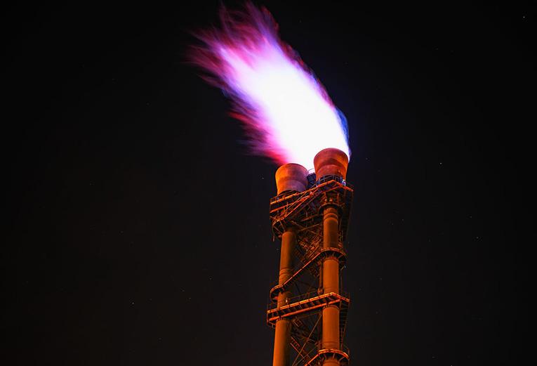 natural gas production US