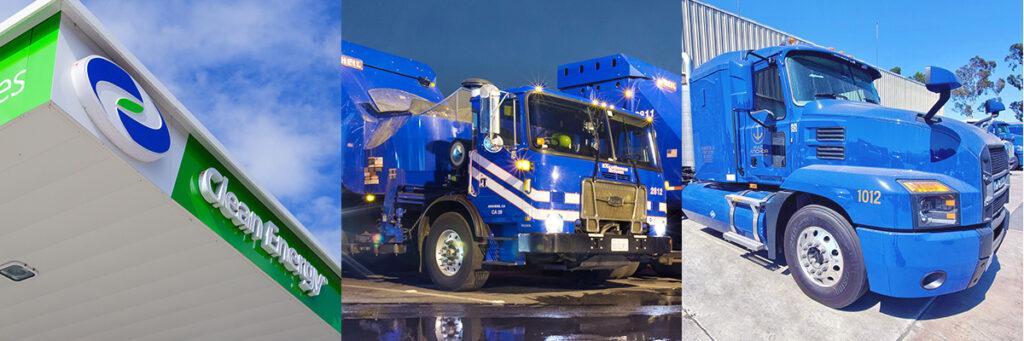 Clean Energy RNG fleets