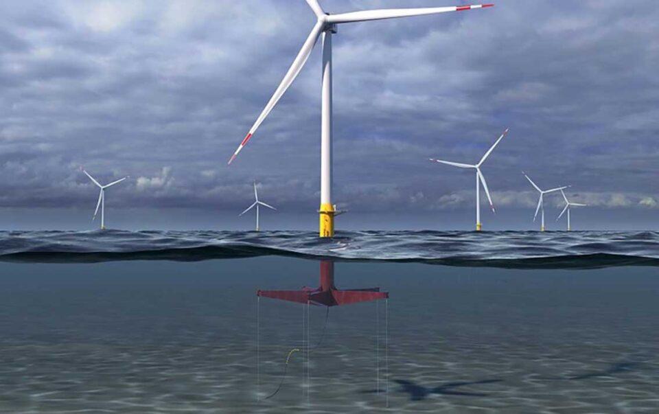 GE floating turbine