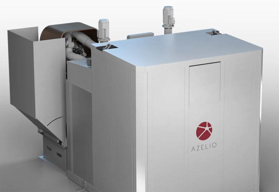 Azelio new energy storage