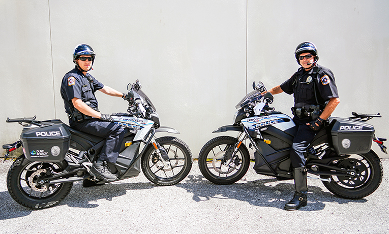 Duke Energy delivers electric police motorcycles to help Largo City transition