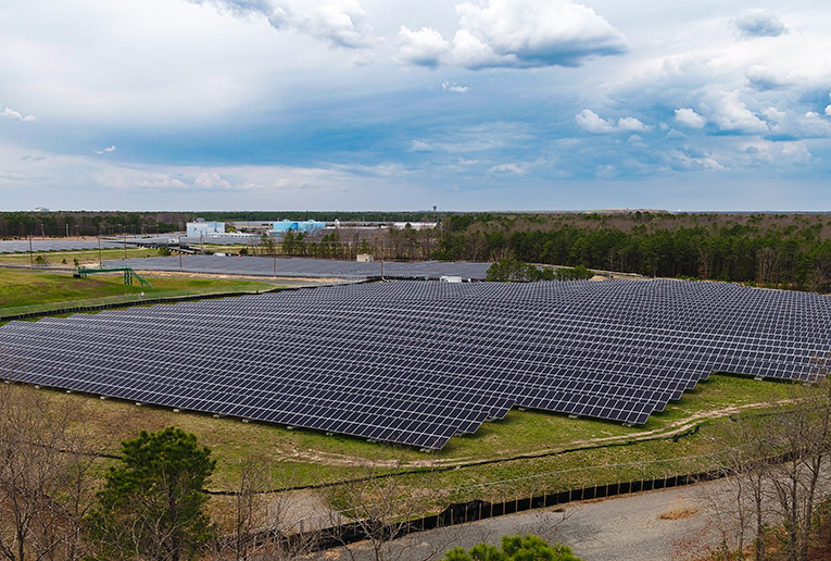Toms River Solar energy project