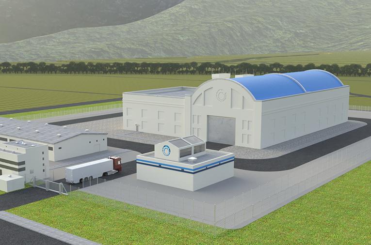 nuclear reactor Hermes