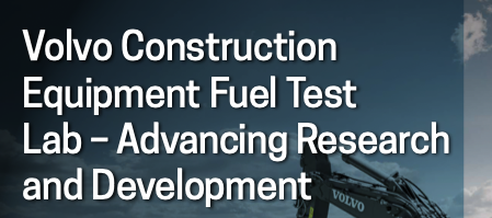 Volvo Construction Equipment Fuel Test Lab – Advancing Research and Development