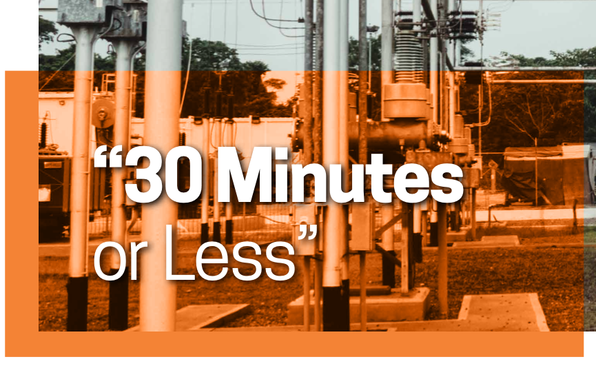 """""""30 Minutes or Less"""" - Ozop Energy Solutions"""
